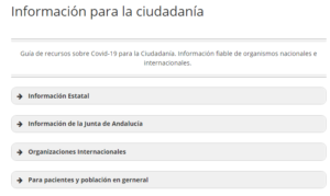 Portal Ciudadanía Covid19 BV-SSPA
